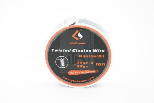 Twisted Clapton Draht 3 m | HTB-Dampfer
