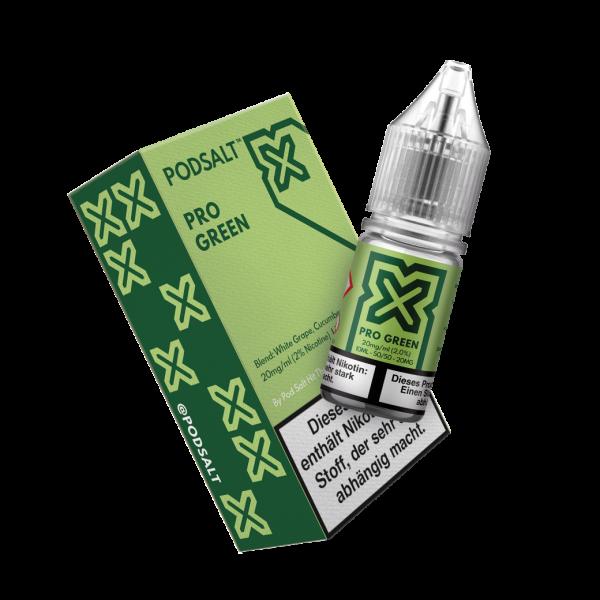 Pod Salt X - Pro Green Nikotinsalz