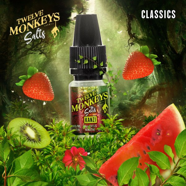 Twelve Monkeys - Kanzi Nikotinsalz