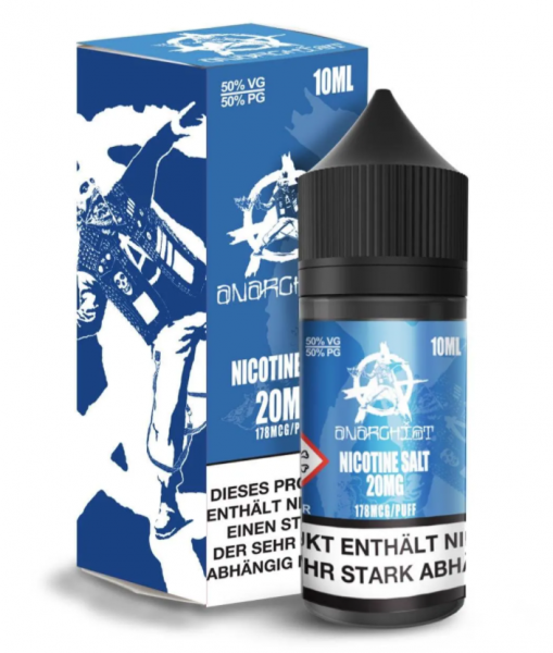 Anarchist - Blue Nikotinsalz