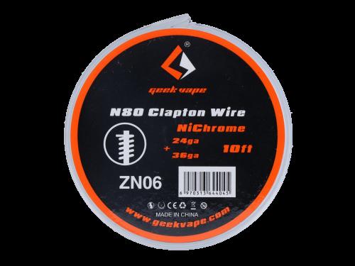 Geekvape Ni80 Clapton Draht
