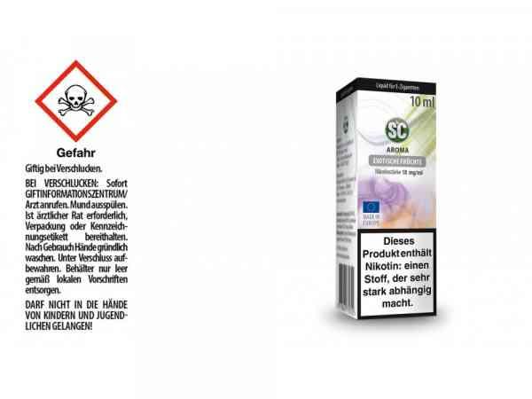 Exotische Früchte E-Zigaretten Liquid