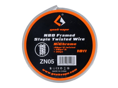 N80 Framed Staple Twisted Draht