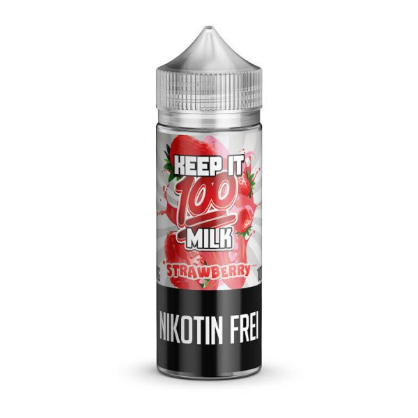 Keep it 100 - Strawberry Milk 100 ml