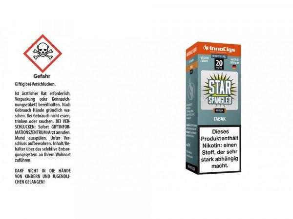 Star Spangled Tabak Nikotinsalz