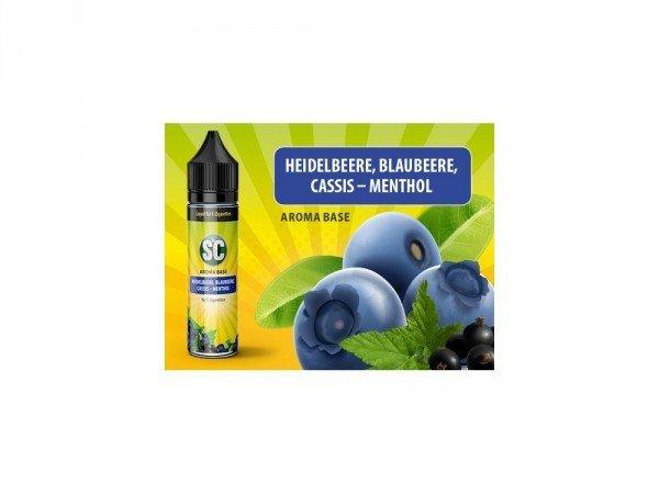 Heidelbeere, Blaubeere, Cassis, Menthol 50 ml
