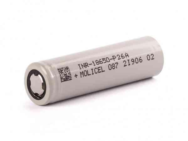 Molicel - INR18650 - P26A Akku