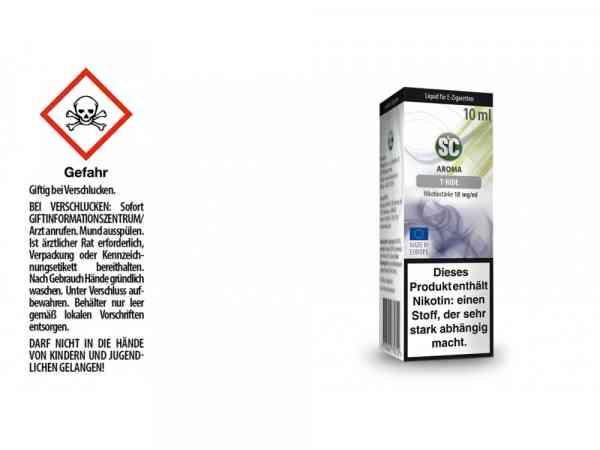 T-Ride E-Zigaretten Liquid