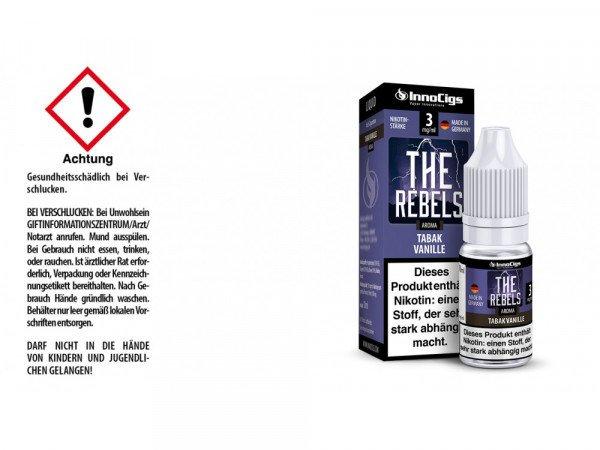The Rebels - Tabak Vanille 10 ml