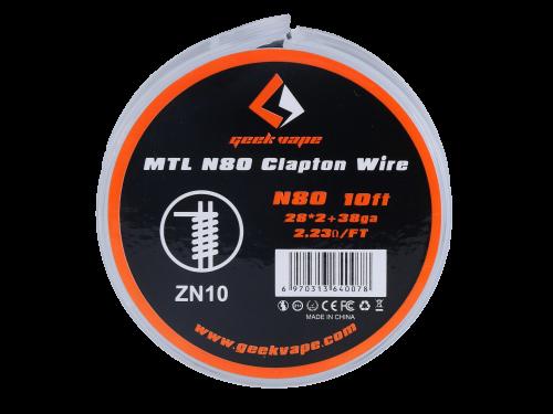 MTL N80 Clapton Draht