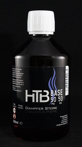 HTB Base 500 ml PG50/VG50 - 0 mg