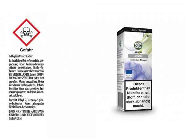 Blue / Azzuro E-Zigaretten Liquid