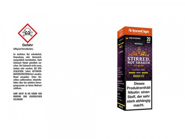 Stirred not Shaken Nikotinsalz