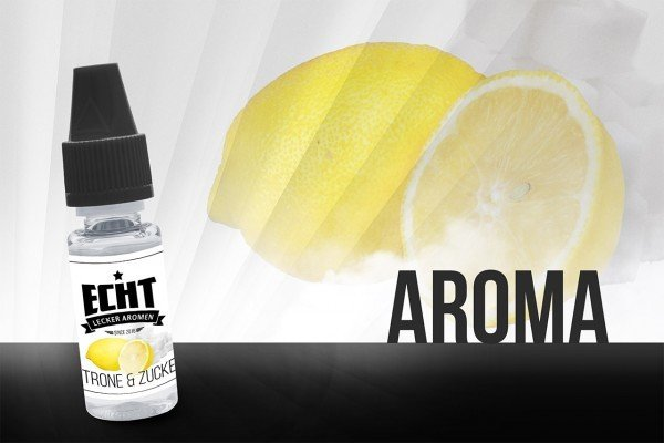 Zitrone & Zucker Aroma 10 ml