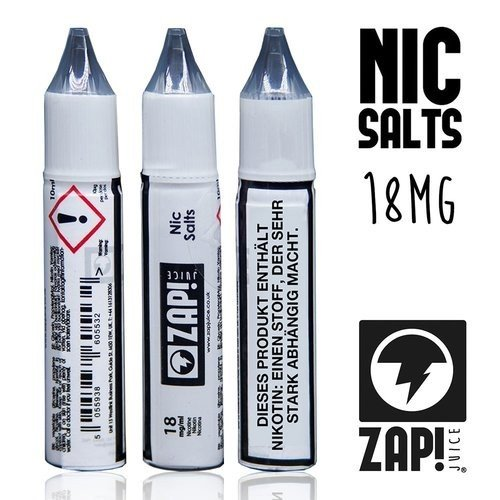 1x DIY Nic Salt Shot 18 mg