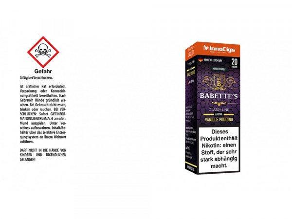 InnoCigs - Babette´s Nikotinsalz