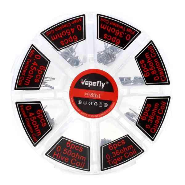 Vapefly - 8 in 1 Coil Pack