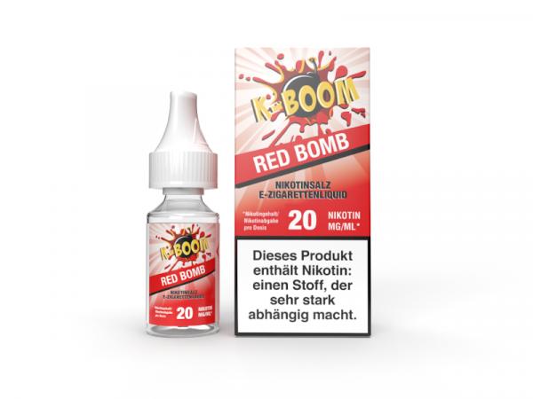 K-Boom - Red Bomb Nikotinsalz