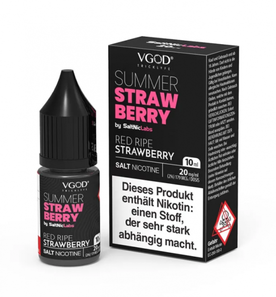 VGOD - Summer Strawberry Nikotinsalz