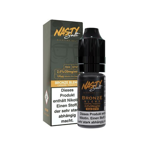 Nasty Juice - Bronze Blend Nic Salt 20mg