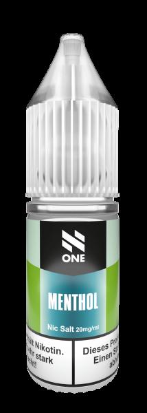 N One - Menthol Nikotinsalz