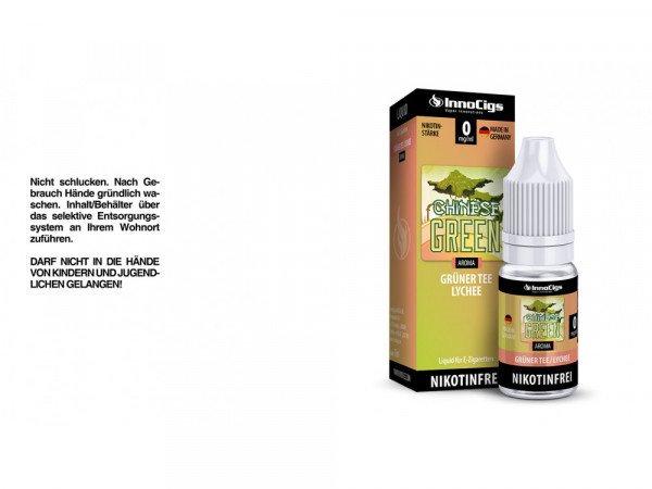 Innocigs - Chinese Green Grüner Tee Lychee 10 ml