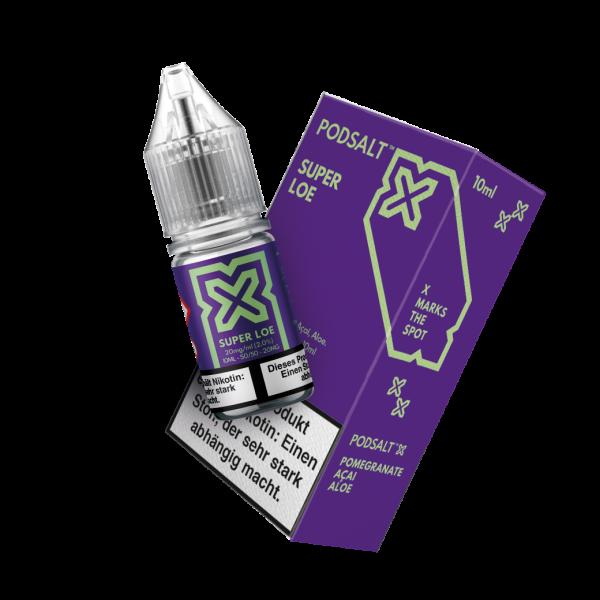 Pod Salt X - Super Loe Nikotinsalz