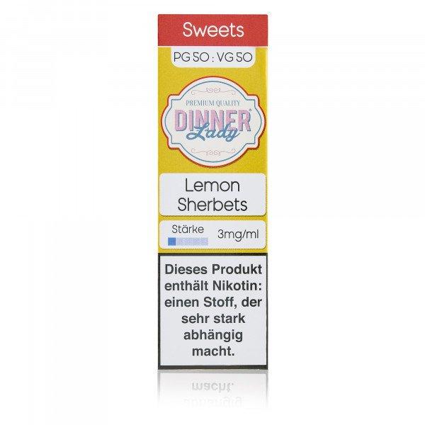 Dinner Lady - Tuck Shop - Lemon Sherbets 10 ml