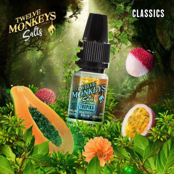 Twelve Monkeys - Tropika Nikotinsalz