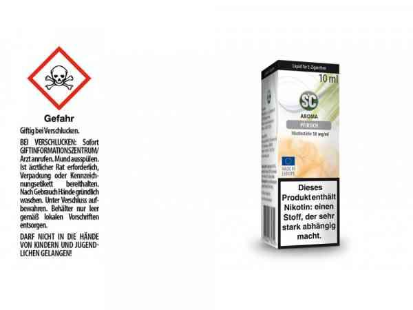 Pfirsich E-Zigaretten Liquid