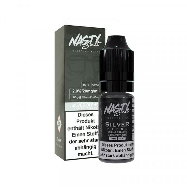 Nasty Juice - Silver Blend Nic Salt 20mg