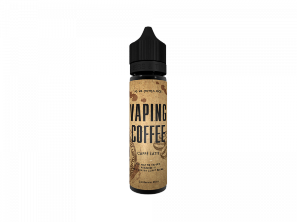 Vaping Coffee - Caffe Latte - 0mg/ml 50ml