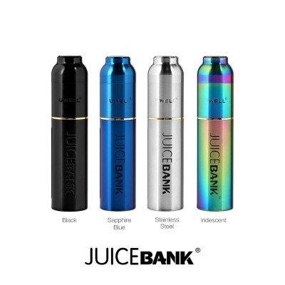 Juice Bank Flasche Silber