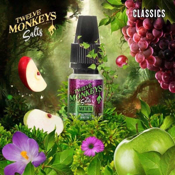 Twelve Monkeys - Matata Nikotinsalz