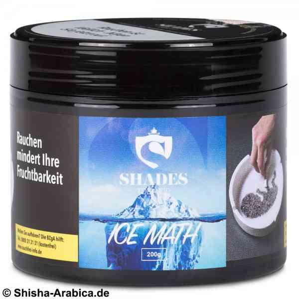 Shades Tobacco - Ice Math 200g