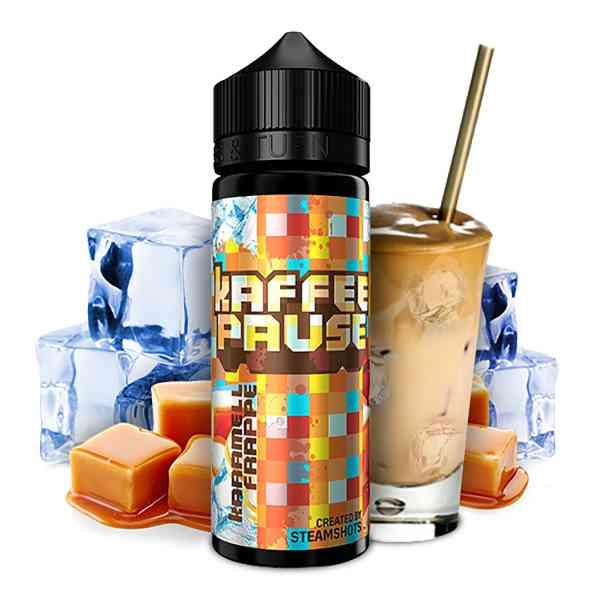 Steamshots - Kaffeepause - Karamell Frappe Aroma