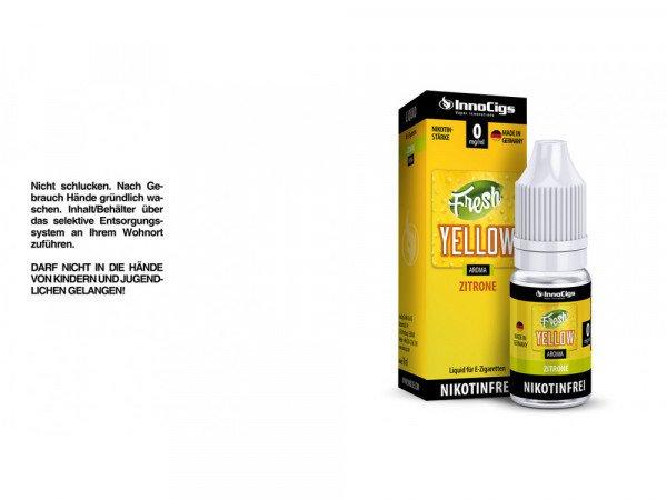 Innocigs - Fresh Yellow Zitrone 10 ml
