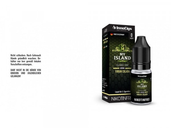 InnoCigs - Classy Line - My Island Virgin Colada 10 ml